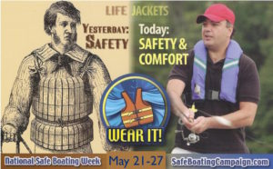 National Safe Boating Week Yesterday and Today