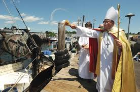 Blessing the Fleet in Stonington, CT